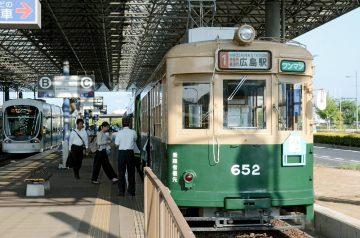 被爆電車」惨禍伝える 広島電鉄6...